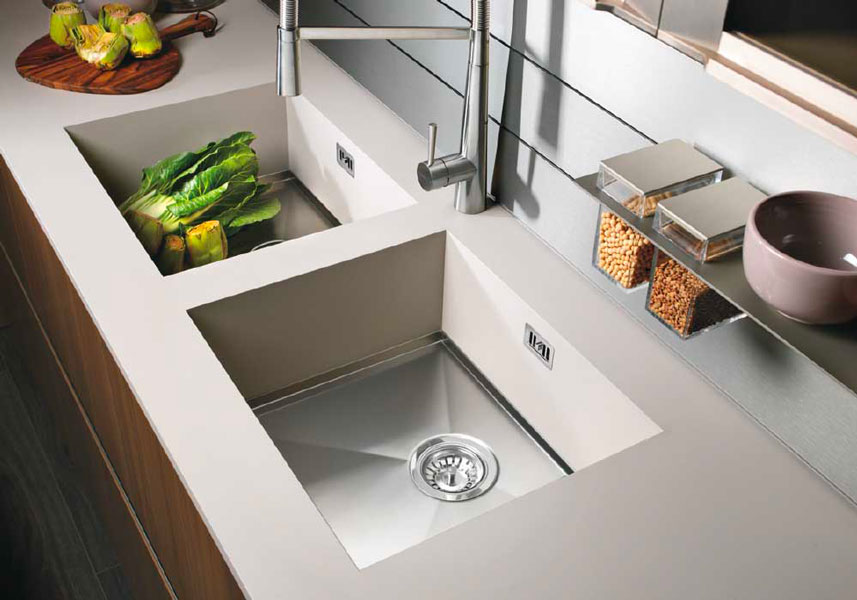 Lavello cucina: materiali, caratteristiche e tipologie