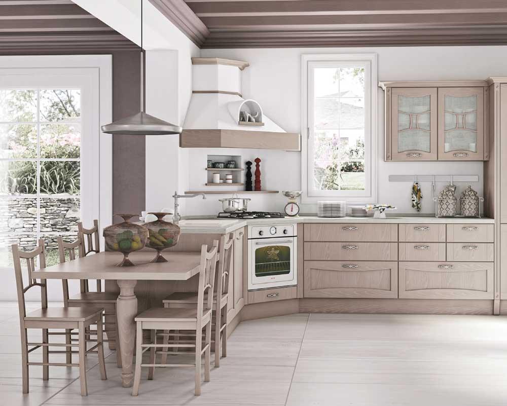 Cucine ad angolo: il layout di design che ottimizza lo spazio e rispetta i principi ergonomici