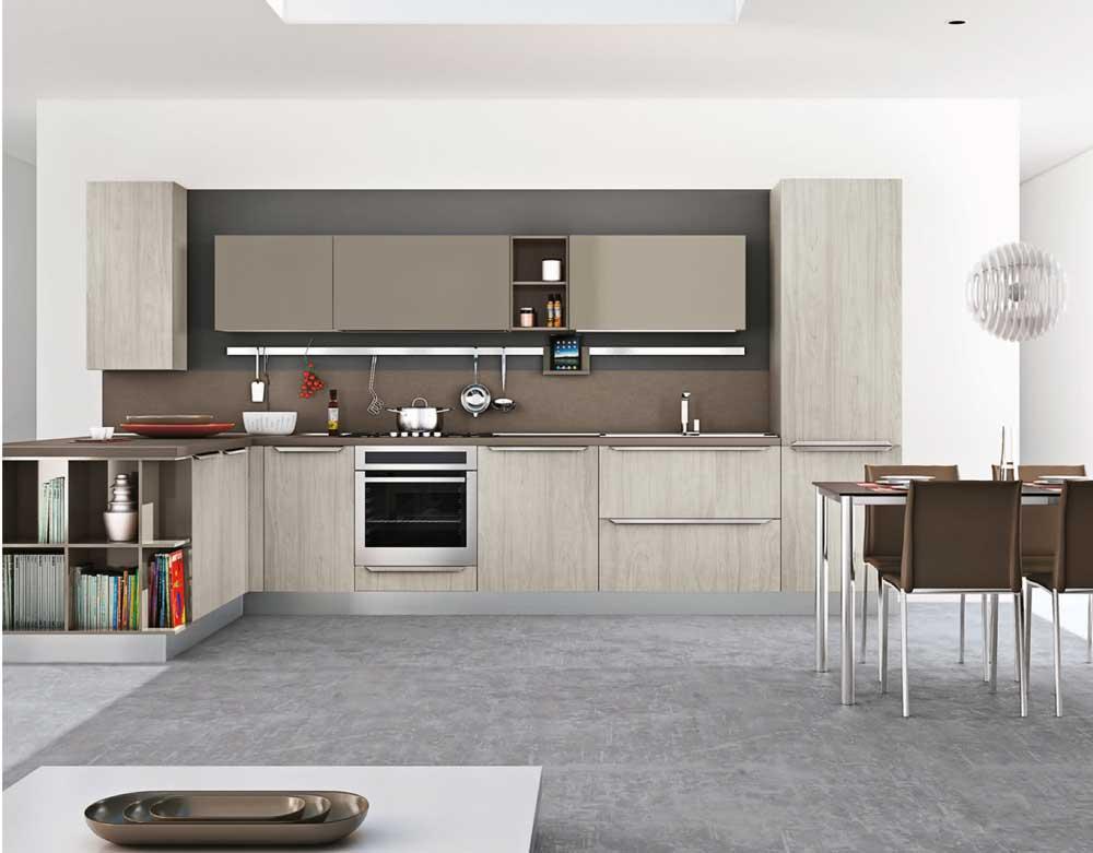 Cucine ad angolo: il layout di design