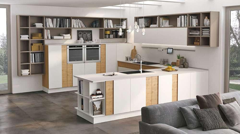 Cucina-in-open-space-come-creare-un-total-look-con-il-living_Modello-creativa